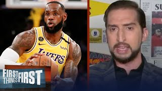 July 31st means the return of NBA & playoff LeBron James — Nick Wright | NBA | FIRST THINGS FIRST