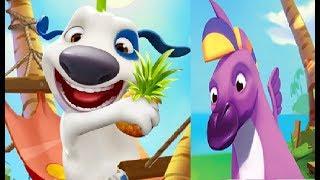 МОЙ ГОВОРЯЩИЙ ХЭНК #169 игра мультик видео для детей ХЕНК и ДРУЗЬЯ ТОМ и АНДЖЕЛА #Мобильныеигры