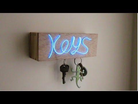 Beleuchteter Magnetschlüsselhalter - Die schicke Aufbewahrungsmöglichkeit für deine Schlüssel