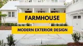 95+ Relaxing Modern Farmhouse Exterior Design Ideas