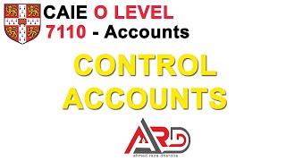 Control Accounts - Sales Ledger Control Account - Purchase Ledger Control Accounts | Urdu / Hindi