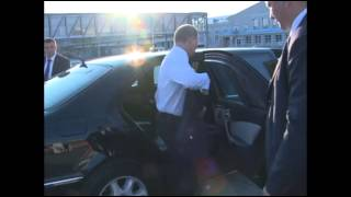 Путин прилетел в Екатеринбург
