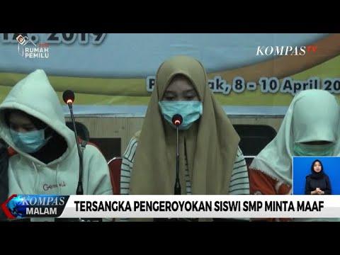 Tersangka Pengeroyokan Siswi SMP Minta Maaf