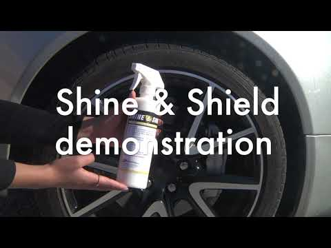 Shine & Shield™ vinyl and rubber protectant