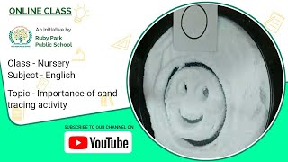 Importance Of Sand Tracing Activity | English For Nursery | Ruby Park Public School Thumbnail