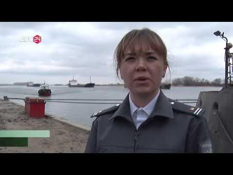 О проверке партии груза в порту Ростовской области