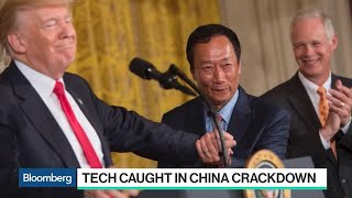 Tech Caught in China Crackdown