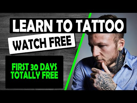 FREE ONLINE TATTOO COURSE - 30 DAYS - YouTube