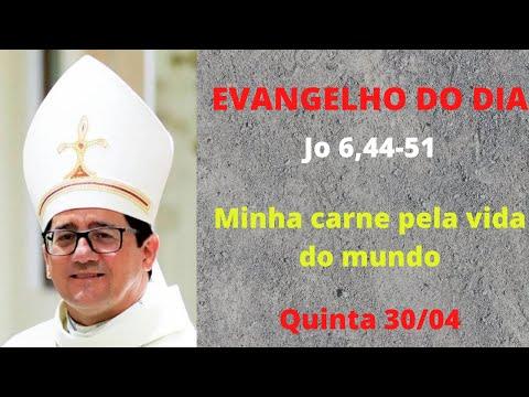 Dom Paulo Jackson - O Evangelho do dia 30/04/20