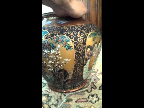 Gorgeous Satsuma Vase How old? Value?