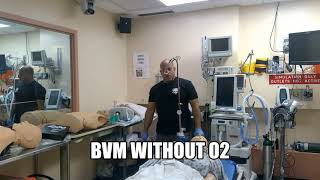 BVM without O2