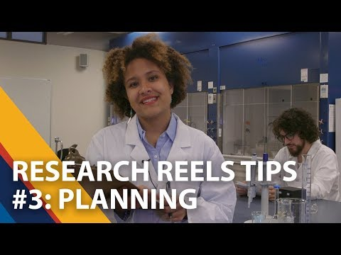 Research Reels Tips - Planning - 3 of 5
