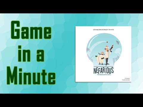 Game in a Minute Ep 58: Nefarious