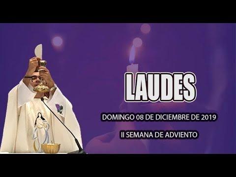 Oración de la mañana (Laudes) DOMINGO 08 DE DICIEMBRE 2019 | Padre Sam | Producción Crisol
