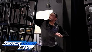 Roman Reigns narrowly avoids backstage calamity: SmackDown LIVE, July 30, 2019