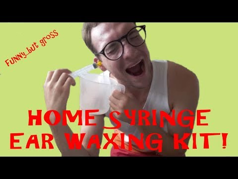 HOME EAR WAX REMOVAL KIT!