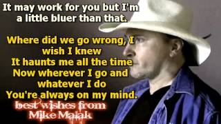 Mike Malak & The Fakers - A Little Bluer Than That (Al Jackson, cover song,lyrics)
