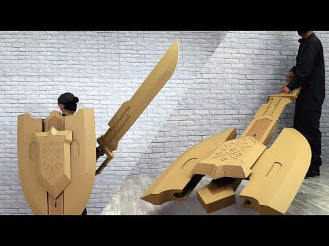 Monster Hunter Rise Fan Creates Incredible DIY Cardboard Charge Blade