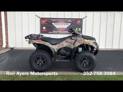 2020 Kawasaki Brute Force 750 4x4i EPS Camo in Greenville, North Carolina - Video 1