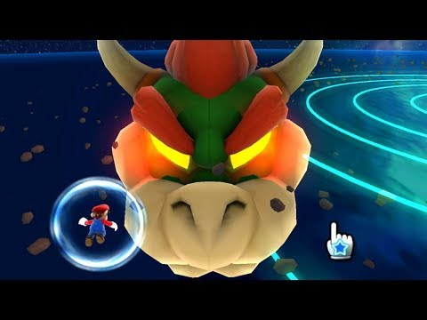Super Mario Galaxy - All Bowser/Bowser Jr. Levels