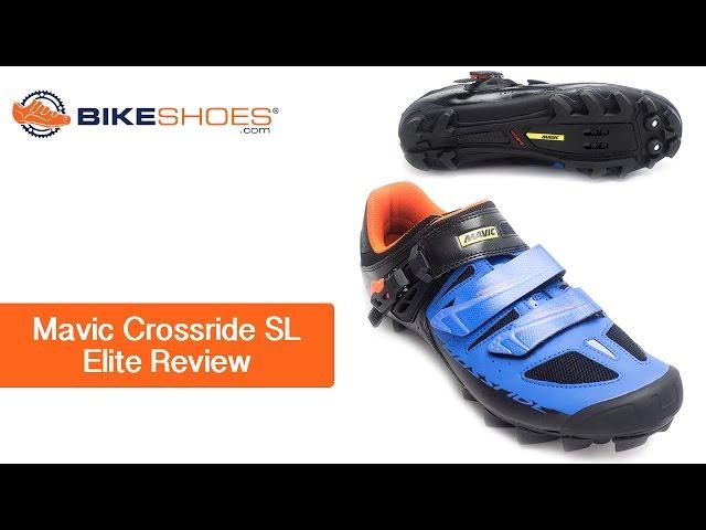 Видео Велотуфли женские Mavic Crossride SL Elite бело-бирюзовые