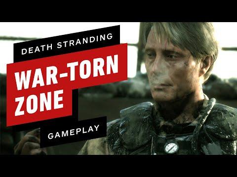 Fighting Through Death Stranding's First War-Torn Zone