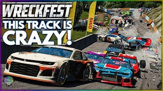 THIS TRACK IS CRAZY! | Wreckfest | NASCAR