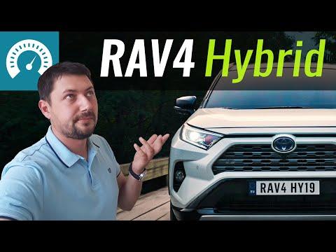 Toyota Rav 4 Hybrid Кроссовер класса J - тест-драйв 6