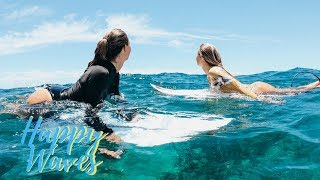 Alanas And Jacks Day In A Life On KAUAI | SURFING With Friends | Happy Waves