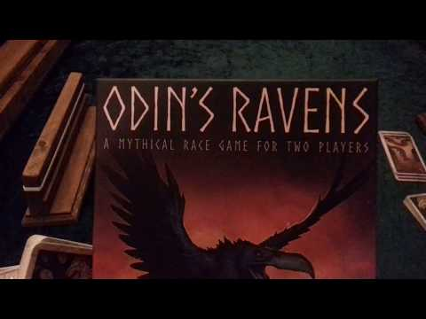 Greenie Goes Gaming: Odin's Ravens Set Up