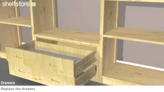 How To Fit Shelfstore Chest Of Drawers