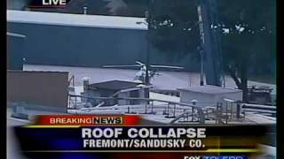 preview picture of video 'Roof collapse in Fremont, 1 dead'