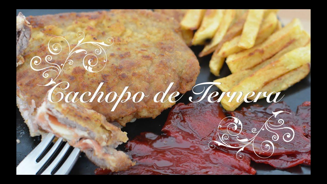 Cachopo de Ternera Asturiano | Cachopo Asturiano | Recetas de Cocina por Chef de mi Casa.com