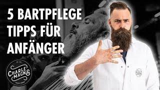 5 Bartpflege Tipps für Anfänger (2020)   Charlemagne Premium