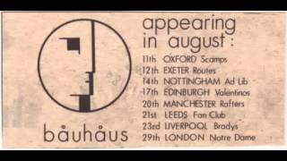 Bauhaus - Scamps (August 11th, 1980)