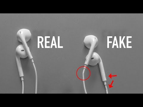 How to Identify FAKE Apple EarPods IN 5 STEPS | 2019