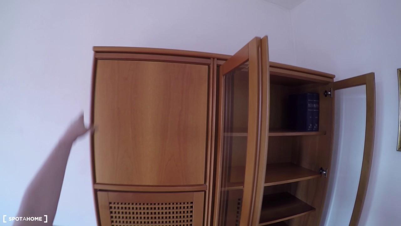 3 stanze in affitto in un luminoso appartamento con un balcone in zona Lodi