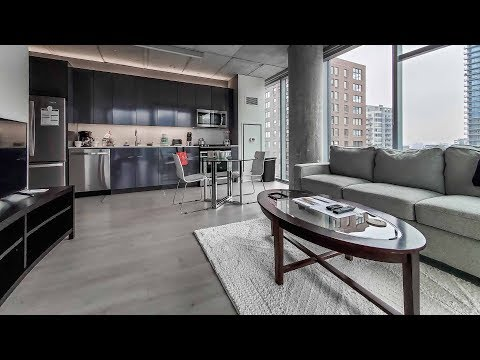 River North furnished 1-bedroom #1408 near the Riverwalk and theMART