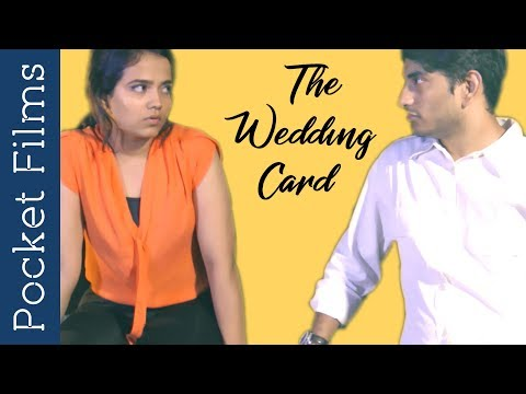 Hindi Drama Short Film - The Wedding Card | Two ex-lovers Discussing about marriage