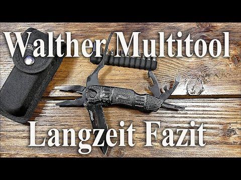 Walther Tac Knife Multitool ( Langzeit Fazit )