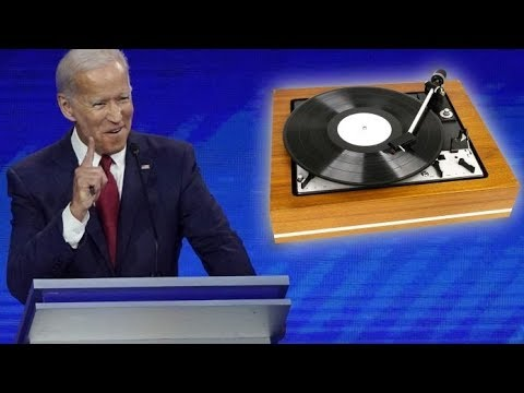 """Asked About Race, Biden Rambles About """"Record Players"""" & """"Words"""""""