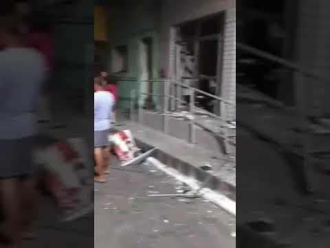 Em ANGELIM: GRUPO ARMADO EXPLODE AGÊNCIA DO BRADESCO