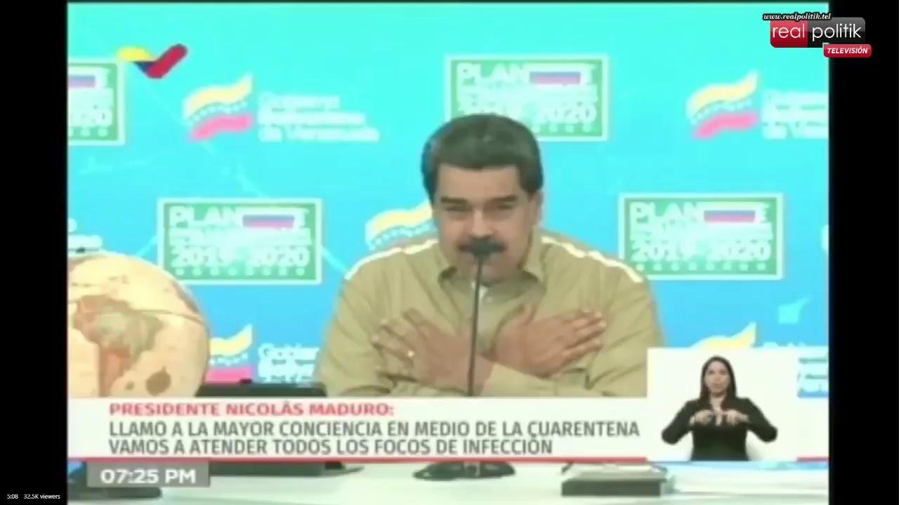 Venezuela: Nicolás Maduro detalla cronograma para la culminación de clases durante la cuarentena