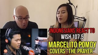 """Indonesians Reacts ToMarcelito Pomoy """"The Prayer"""" (Celine Dion/Andrea Bocelli) LIVE Wish 107.5 Bus"""