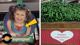 10 najśmieszniejszych wpadek w supermarketach