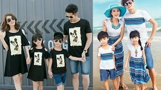 Family Matching Outfits Ideas 2018 👪 | Matching Outfits | Mom And Son Matching Outfits | Must Watch