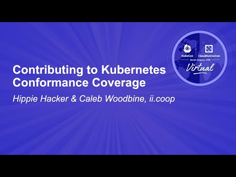 Image thumbnail for talk Contributing to Kubernetes Conformance Coverage