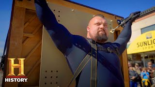 The Strongest Man in History: Eddie Hall Carries a 600 Pound Piano (Season 1) | History