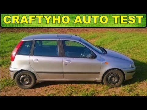 Craftyho auto test ♦ Puntík Luigi ▶ Fiat Punto 1,2 16V