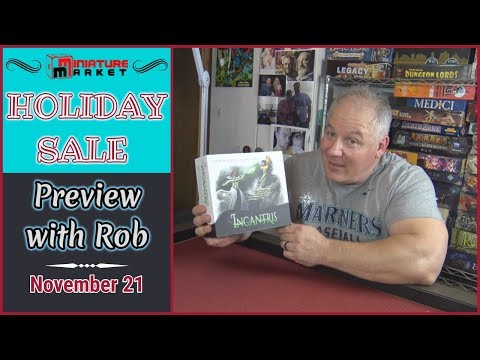 Miniature Market Holiday Preview with Rob - Incantris